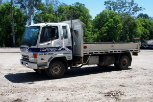 tipper dry hire gympie - earthworks brisbane