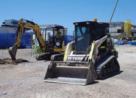 tippers positracks excavators hire sunshine coast - civil works company