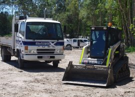 sunshine coast earthmoving - civil contractors - excavators hire sunshine coast earthmovers