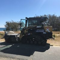 excavator tipper positrack dry hire sunshine coast - earthmoving equipment hire