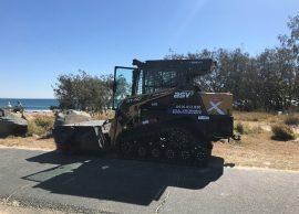 excavator tipper positrack dry hire sunshine coast - earthmoving equipment hire