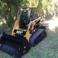 positrack hire sunshine coast - excavator dry hire - digging machines