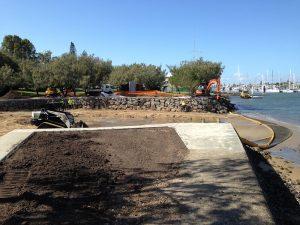 residential landscaping sunshine coast - earthmoving garden design - home landscaping