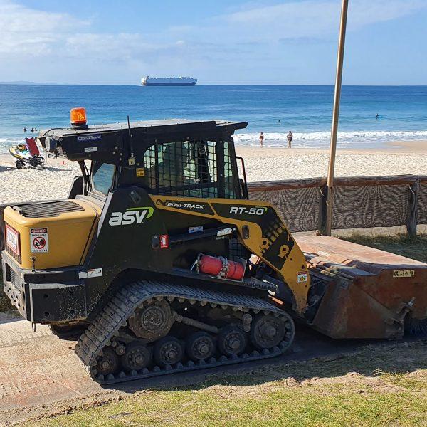 Positrack Excavator Hire Sunshine Coast Earthworks